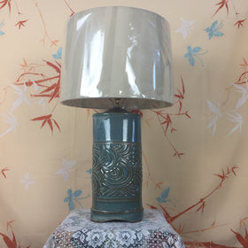 Lamp - Dark Blue Swirl