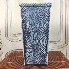 Vase - Tall Dark Blue