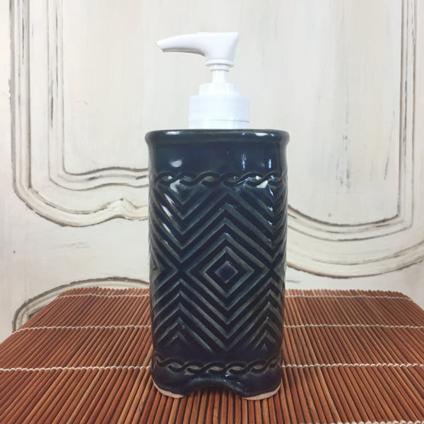 Soap Dispenser - Dark Blue