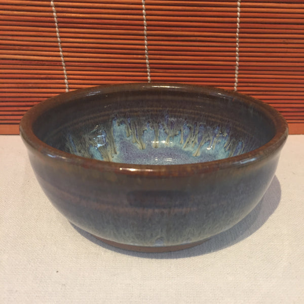Bowl - Brown and Blue Tinted