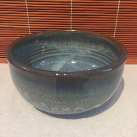 Bowl - Dark Blue Tinted