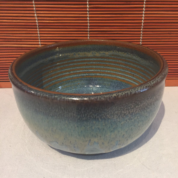 Bowl - Internal Partially Rust Colored