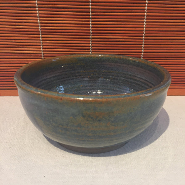 Bowl - Variegated Brown and Blue
