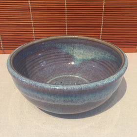 Bowl - Variegated Blue and Purple