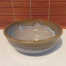 Bowl - Variegated Brown and Tan
