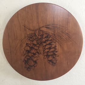 Lazy Susan Pinecone Design