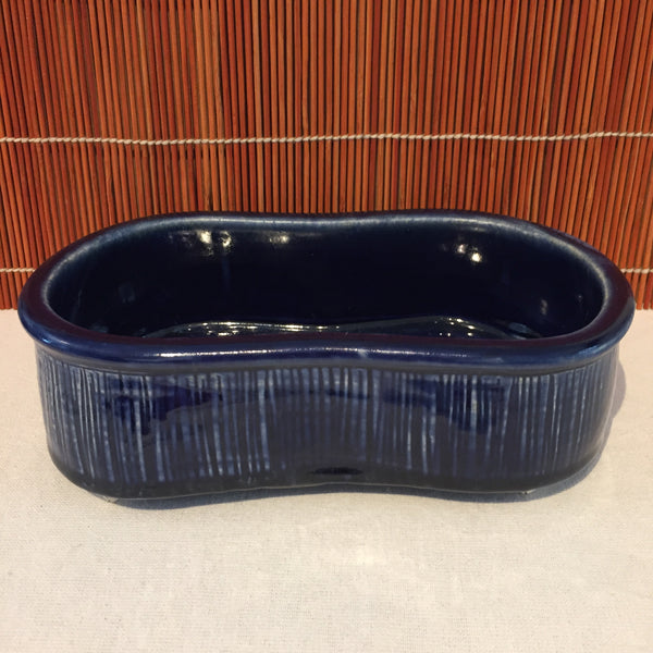 Dark Blue Horizontal Pot