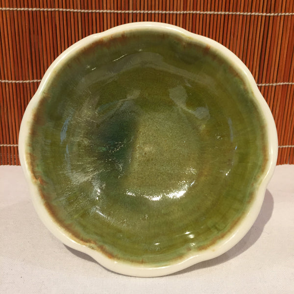 Bowl - Wiggly Rimmed Shallow