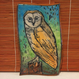 Wall Plaque - Owl