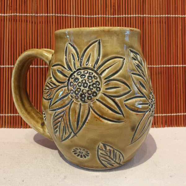 Mugs - Sunflower Design Assorted Collection