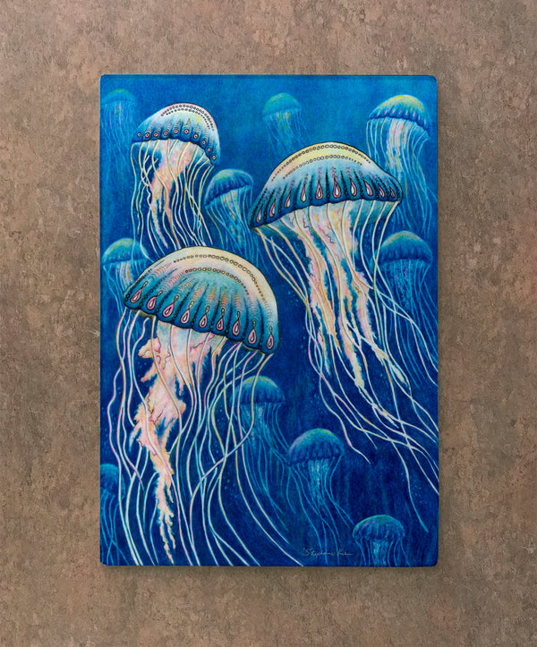 Cutting Board - Jellyfish