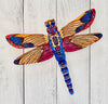 Wall Art - Multicolor Dragonfly