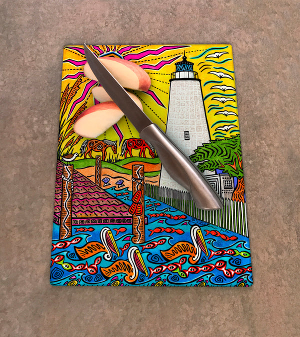 Cutting Board - Ocracoke Island