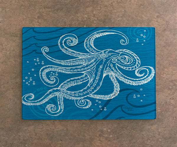 Cutting Board - Octopus One Color