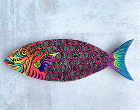 Wall Art - Parrot Fish
