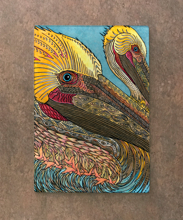 Cutting Board - Pelican Heads