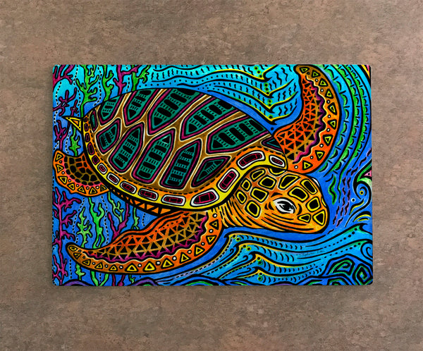 Cutting Board - Primitive Loggerhead