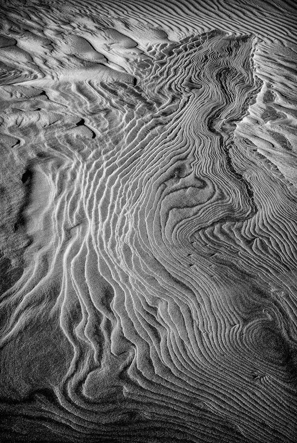 Sand Patterns On Jockey's Ridge