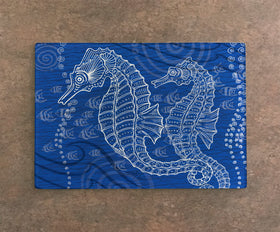 Cutting Board - Seahorse One Color