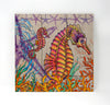 Wall Art Wood Triptychs - Sea Horses