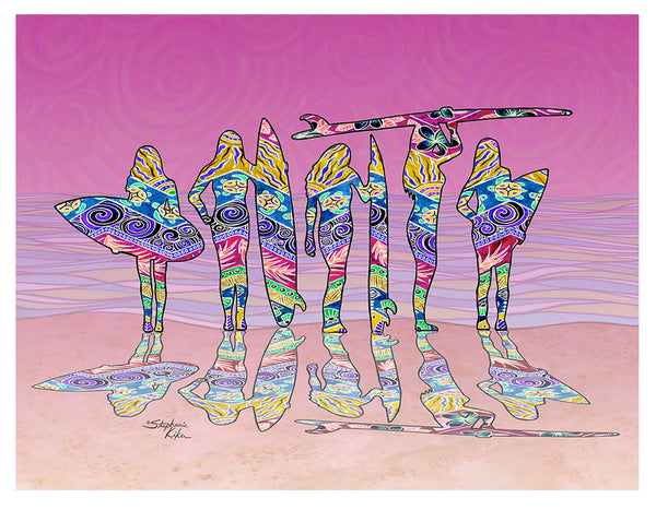 Photo Giclee - Surf Sisters