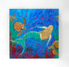 Wall Art Wood Triptychs - The Mermaid Dance