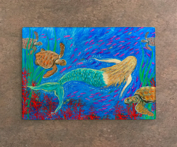 Cutting Board - Mermaid Dance