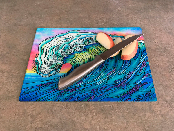 Cutting Board - The Wave