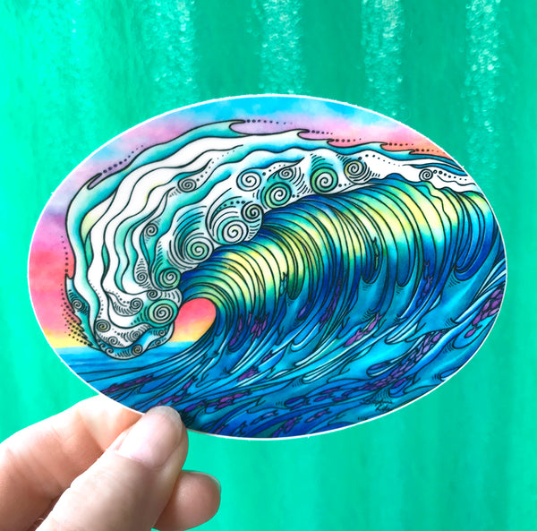 Sticker - The Wave