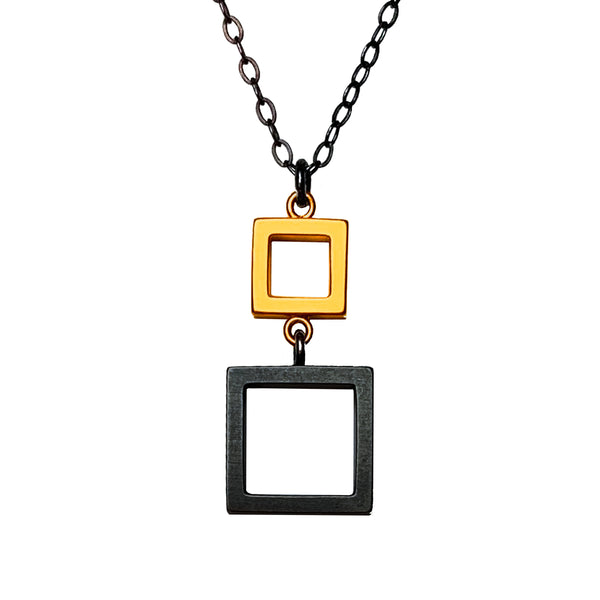 Square, Square Necklace