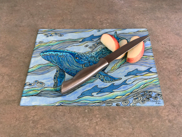 Cutting Board - Whale Watch
