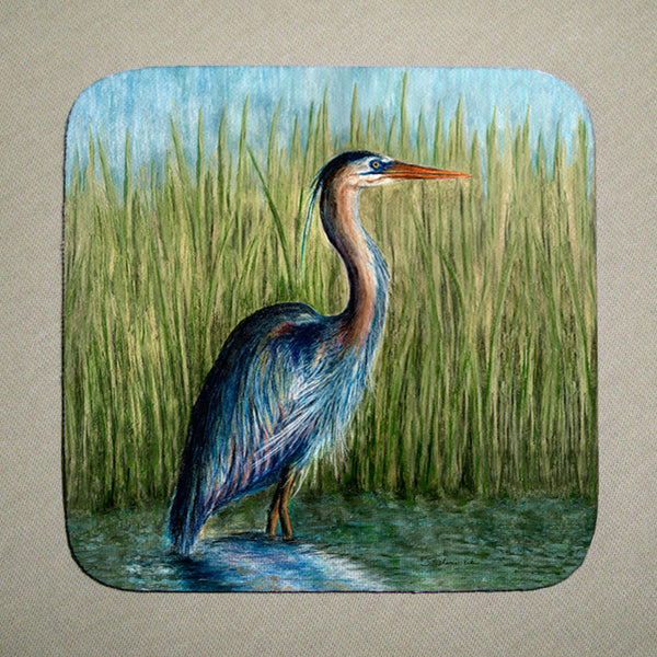 Coasters - Blue Heron