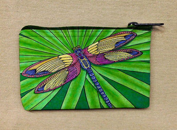 Coin Bag - Dragonfly