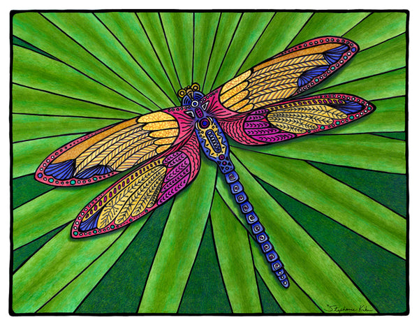 Photo Giclee - Dragonfly