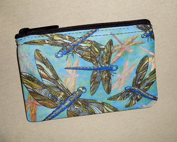 Coin Bag - Dragonfly Gathering