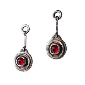 Bar and Ring Earrings