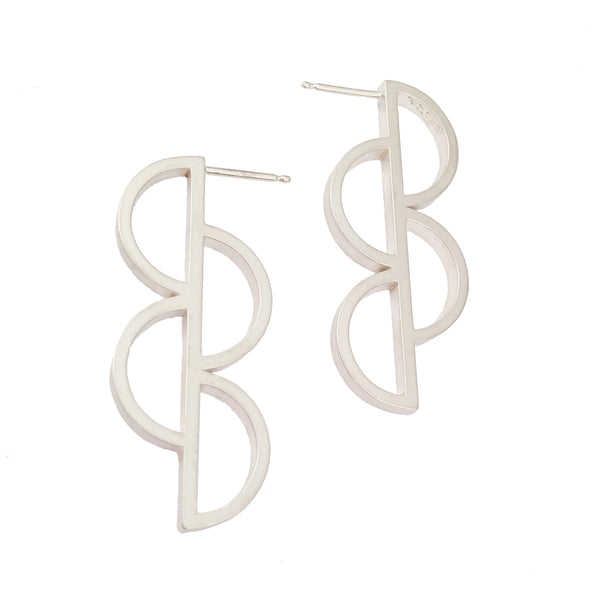 Four D Earrings