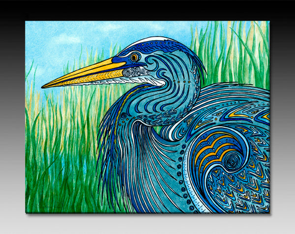 Ceramic Tiles - Great Blue Heron