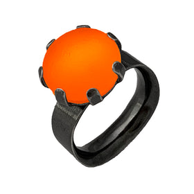 Prong Ring - Squared Band - Large