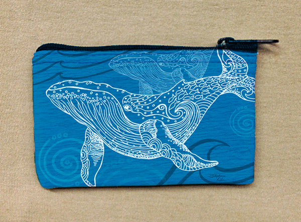 Coin Bag - Whale One Color