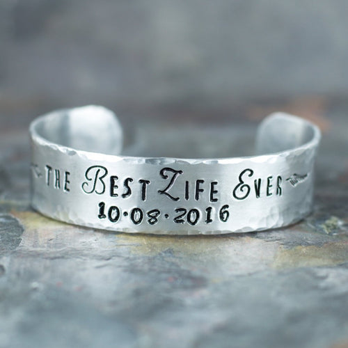 Best Life Ever Bracelet | Scripture Cuff | JW Gift | Personalized Baptism Gift | Pioneer School | Bible Quote | Jehovah Witnesses | JW Org