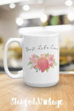 Load image into Gallery viewer, Best Life Ever Coffee Mug, Inspirational Quote Ceramic Coffee Cup, JW Pioneer Message Mug, Coffee Lover Gift