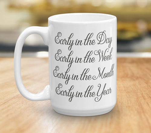JW Pioneer Mug - Inspirational Coffee Cup - JW Gift - Pioneer School Gift - Motivational Coffee Mug - Planning Goals - JW Quote - Custom Mug