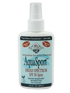 AquaSport SPF30 Sunscreen Spray 3 oz