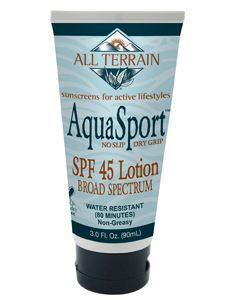 AquaSport SPF45 Sunscreen Lotion 3 oz