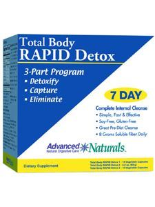 Total Body Rapid Detox 1 kit