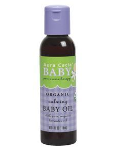 Calming Baby Oil Cert. Org. 4 fl oz