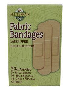 Fabric Bandages - Assorted 30 pc