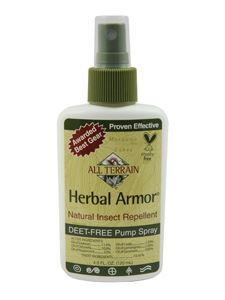 Herbal Armor Insect Repellent Spray 4 oz