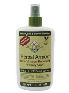 Herbal Armor Insect Repellent Spray 8 oz